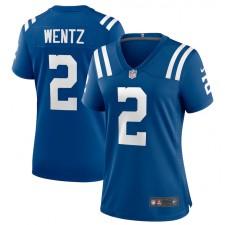 Carson Wentz Indianapolis Colts Nike camiseta de juego de jugadora femenina - real