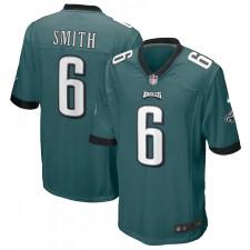 DeVonta Smith Philadelphia Eagles Nike juego Camisetas - Verde medianoche