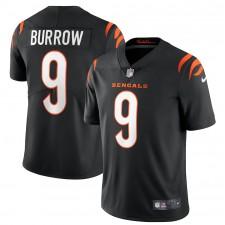 Joe Burrow Cincinnati Bengals Nike Vapor limitado Camisetas - Negro