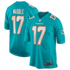 Jaylen Waddle Miami Dolphins Nike 2021 NFL Draft Primera Ronda coger juego Camisetas - Aqua