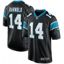Sam Darnold Carolina Panthers Nike Juego Jugador Camisetas - Negro