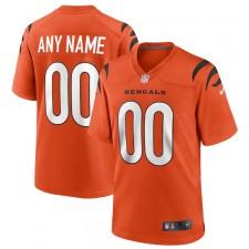 Cincinnati Bengals Nike Alternate Juego personalizar Camisetas - Naranja