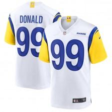 Aaron Donald Los Angeles Rams Camiseta de Juego Alternativa Nike - Blanco