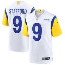Matthew Stafford Los Angeles Rams Camiseta de Juego Alternativa Nike - Blanco
