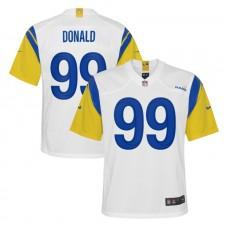 Aaron Donald Los Angeles Rams Camiseta de Juego Nike Niños Alternate - Blanco