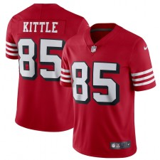 George Kittle San Francisco 49ers Camiseta Nike Alternate Vapor Limited Jugador - Escarlata