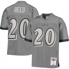 Ed Reed Baltimore Ravens Mitchell & Ness Niños 2004 Retirado Jugador Metal Réplica Camisetas - Carbón vegetal