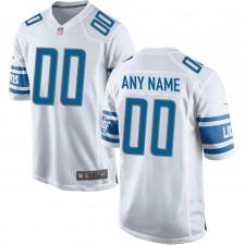 Camiseta de Juego Nike de los Detroit Lions - Blanca