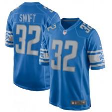 D'Andre Swift Detroit Lions Camiseta de Juego Nike - Azul