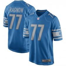 Camiseta de juego de los Detroit Lions de Frank Ragnow - Azul