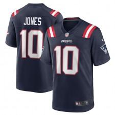 Mac Jones New England Patriots Nike 2021 NFL Draft Primero Redondo Escoge Juego Camisetas - Marina