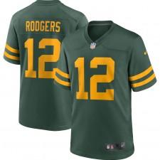 Aaron Rodgers Green Bay Packers Camiseta de Jugador Alternativa Nike - Verde