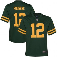 Aaron Rodgers Green Bay Packers Camiseta de Jugador Nike Niños Alternate - Verde