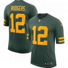 Aaron Rodgers Green Bay Packers Camiseta Nike Alternate Vapor Limited Jugador - Verde