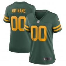 Camiseta personalizada Nike de los Green Bay Packers para mujer - Verde