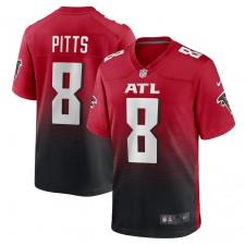 Kyle Pitts Atlanta Falcons Nike 2021 NFL Borrador Primero Redondo EscogeAlternativa Jugador Juego Camisetas - Rojo