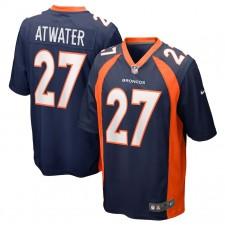 Camiseta de jugador retirado de los Denver Broncos Steve Atwater - Azul marino