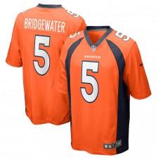 Camiseta de juego de Teddy Bridgewater Denver Broncos - Naranja