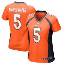 Camiseta de Juego Nike Teddy Bridgewater Denver Broncos, Mujer - Naranja