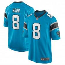 Jaycee Horn Carolina Panthers Camiseta de Juego Nike - Azul