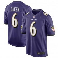 Patrick Queen Baltimore Ravens Camiseta de Jugador de los Baltimore Ravens - Morado