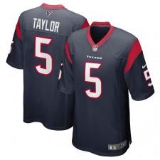 Tyrod Taylor Houston Texans Camiseta de Juego Nike - Azul Marino