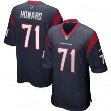 Tytus Howard Houston Texans Camiseta de Juego Nike - Azul Marino