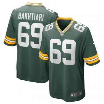 David Bakhtiari Green Bay Packers Camiseta de Juego Nike - Verde