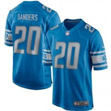 Barry Sanders Detroit Lions Camiseta de Jugador Retirado Nike - Azul