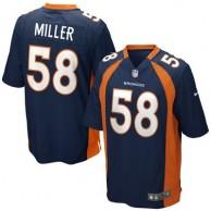 Mens Denver Broncos Von Miller Nike Navy Blue Alternate Game Jersey