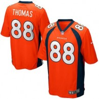 Youth Denver Broncos Demaryius Thomas Nike Orange Team Color Game Jersey