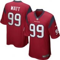 Mens Houston Texans JJ Watt Nike Red Alternate Game Jersey