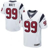 Mens Houston Texans JJ Watt Nike White Elite Jersey