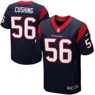 Mens Houston Texans Brian Cushing Nike Navy Blue Elite Jersey