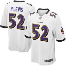 Nike Ray Lewis Baltimore Ravens Youth Game Jersey - White