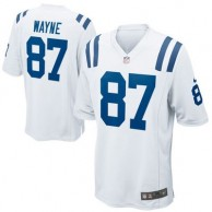 Mens Indianapolis Colts Reggie Wayne Nike White Game Jersey