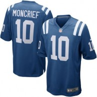 Mens Indianapolis Colts Donte Moncrief Nike Royal Game Jersey