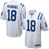 Men's Indianapolis Colts Peyton Manning Nike White Retired Player Game Jersey