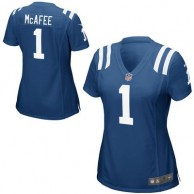 Women's Indianapolis Colts Pat McAfee Nike Royal Blue Game Jersey