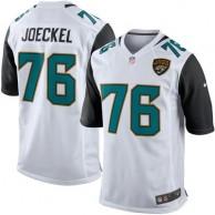 Mens Jacksonville Jaguars Luke Joeckel Nike White Game Jersey
