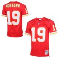 Hombres Kansas City. camisetas-kansas-city-chiefs. Disponible. Hombres  Kansas City Chiefs Joe Montana Mitchell   Ness Rojo Auténtico Jubilado  jugador NFL ... 2ba1d29aaa0fe