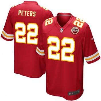 Hombres Kansas City Chiefs Marcus Peters Nike Rojo Juego NFL Tienda Camisetas