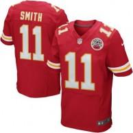 Mens Kansas City Chiefs Alex Smith Nike Red Elite Jersey