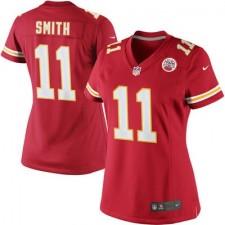 Mujeres Kansas City. camisetas-kansas-city-chiefs. Disponible. Mujeres Kansas  City Chiefs Alex Smith Nike Rojo limitada NFL ... 269e4025584