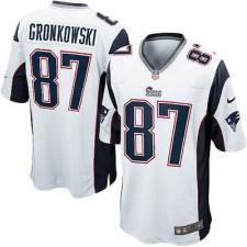 6218268bfff9a Hombres New England. camisetas-new-england-patriots. Disponible. Hombres  New England Patriots Roban Gronkowski Nike Blanco Elite NFL Tienda ...