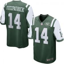 Men's New York Jets Ryan Fitzpatrick Nike Green Game Jersey