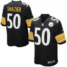 Mens Pittsburgh Steelers Ryan Shazier Nike Black Game Jersey