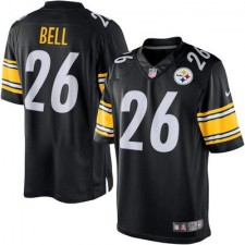 Men's Pittsburgh Steelers Le'Veon Bell Nike Black Limited Jersey