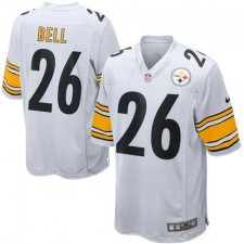 Mens Pittsburgh Steelers Le'Veon Bell Nike White Game Jersey