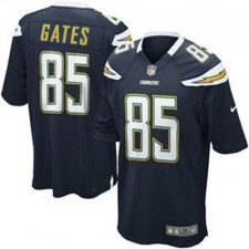 Mens San Diego Chargers Antonio Gates Nike Navy Blue Game Jersey